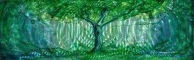 Mystery Tree Original by Luis  Navarro
