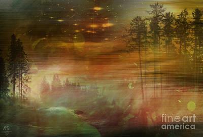 Mystic Wood  Original by Martin Slotta