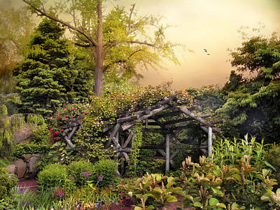 Vines Photograph - Mystical Arbor by Jessica Jenney