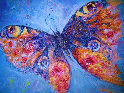 Painting - Mystical Butterfly by Vicki Wynberg