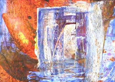 Painting - Mystical Gate. by Paul Pulszartti