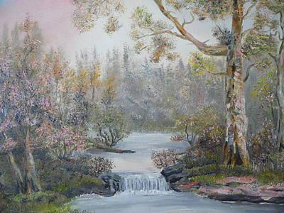 Mystifying Painting - Mystifying Forest by Ethos Lambousa