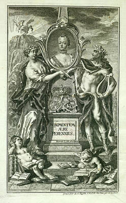 Mythical Figures Print by British Library