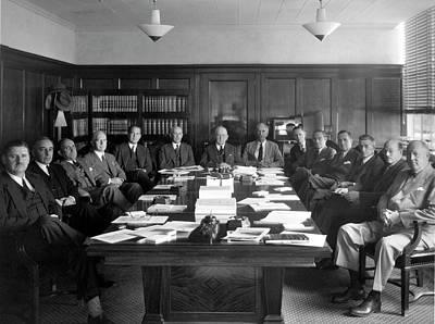 Warner Photograph - Naca Aeronautics Committee by Nasa