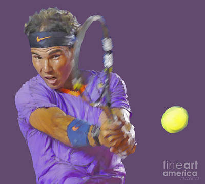 Nadal Print by Stephen Shub