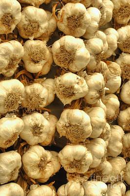 Greece Photograph - Nafplio Greek Garlic by Deborah Smolinske