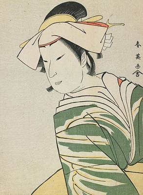 Nakamura Noshio II As Tonase Print by Katsukawa Shunei
