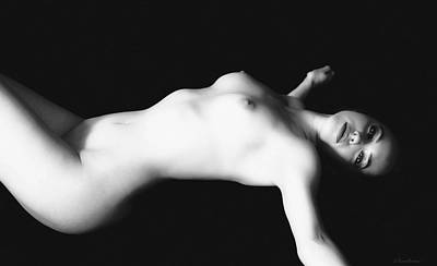 Nudes Photograph - Naked Woman by Ramon Martinez