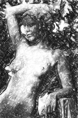 Naked Woman Original by Toppart Sweden