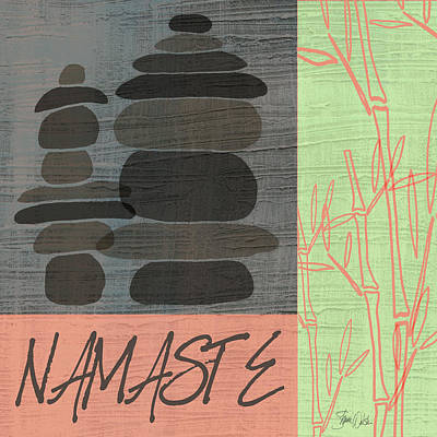 Lime Painting - Namaste by Shanni Welsh
