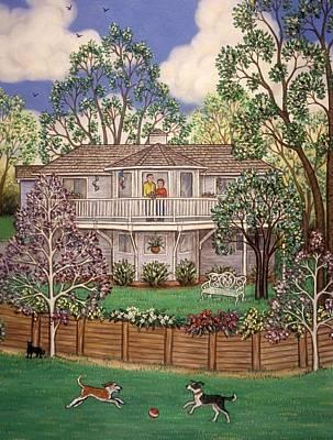 Nancy's House Print by Linda Mears