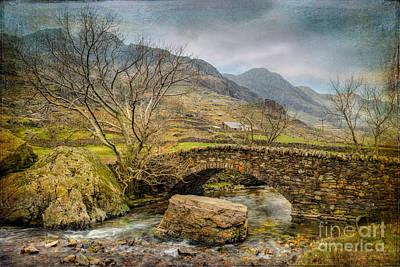 Llanberis Photograph - Nant Peris Pass by Adrian Evans