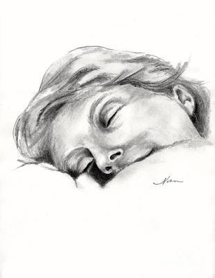 Nap Time Print by Nan Wright
