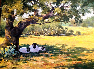 Painting - Nap Time by Tina Bohlman