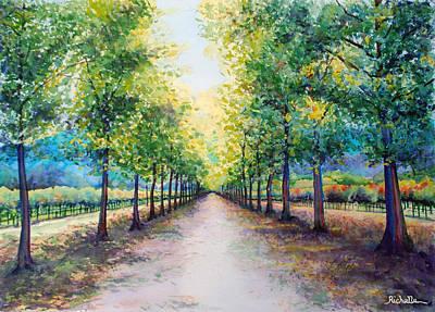 Napa Road Original by Richelle Siska