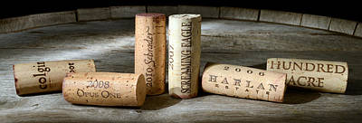 Sommelier Photograph - Napa Valley Favorites by Jon Neidert