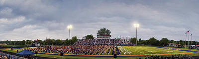 Naperville High Graduation Print by Andrew Soundarajan