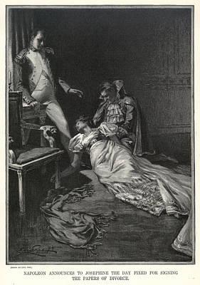 Napoleon And Josephine Print by Granger