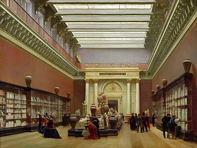 Terracotta Room Painting - Napoleon IIi Museum by Celestial Images
