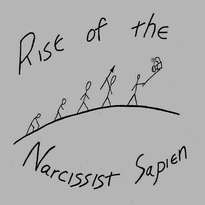 Narcissist Sapien Print by David S Reynolds