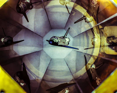 Nasa Langley Magnetic Suspension Print by Chad Rowe