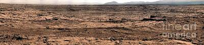 Planets Photograph - Nasa Mars Panorama From The Mars Rover by Rose Santuci-Sofranko