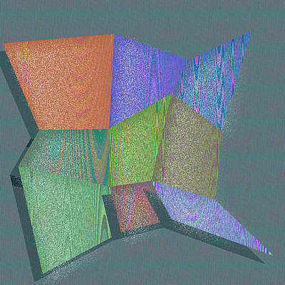 Background Digital Art - Nashua by Gareth Lewis