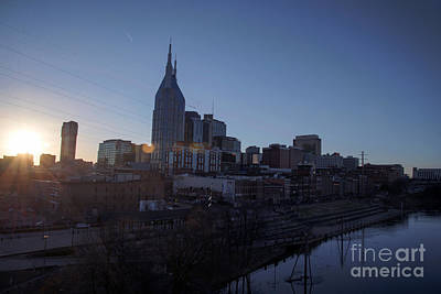 Nashville At Sunset Original by James Sanduski