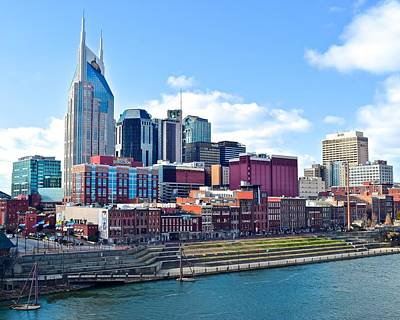 Nashville Blues Print by Frozen in Time Fine Art Photography