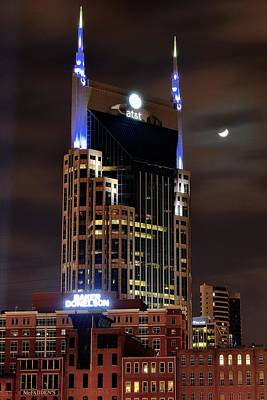 Nashville Skyline Photograph - Nashville by Frozen in Time Fine Art Photography