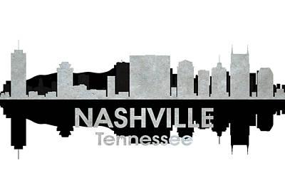 Nashville Tn 4 Print by Angelina Vick