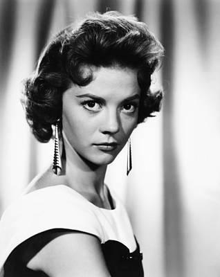 Dangle Earrings Photograph - Natalie Wood, Circa 1956 by Everett
