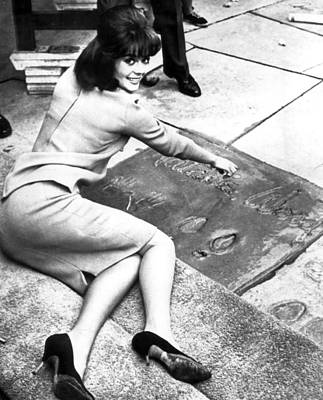 Natalie Wood Hollywood Square Print by Retro Images Archive
