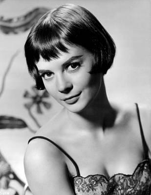Natalie Wood With Short Hair Print by Retro Images Archive