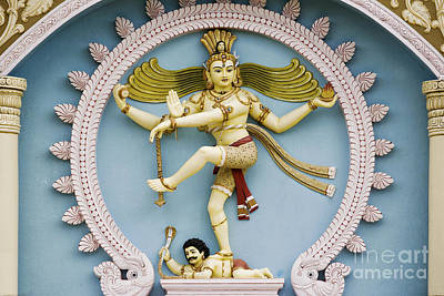 Worship God Photograph - Nataraja The Cosmic Dancer by Tim Gainey