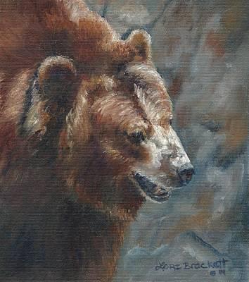 Nate - The Bear Original by Lori Brackett
