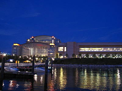 National Harbor - 121227 Print by DC Photographer