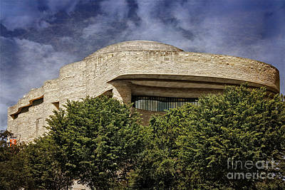Curvilinear Photograph - National Museum Of The American Indian by Tom Gari Gallery-Three-Photography