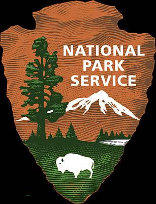 National Park Service Print by Bureau Of Land Management
