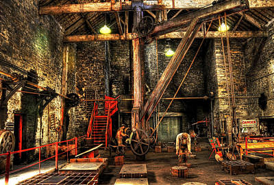 Industry Photograph - National Slate Museum by Svetlana Sewell
