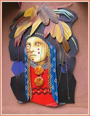 Warrior Goddess Photograph - Native American Artwork by Dora Sofia Caputo Photographic Art and Design