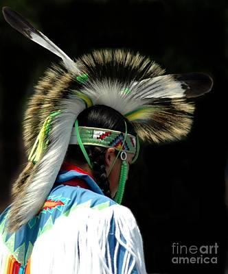 Native American Boy Print by Kathleen Struckle