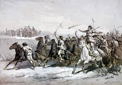 Native American Warriors Print by Granger