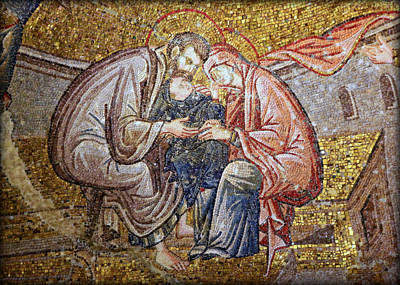 Nativity Print by Stephen Stookey