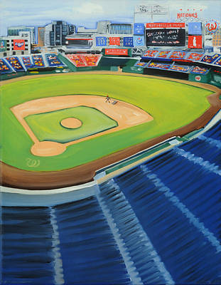 Nats Ballpark Original by Anne Lewis