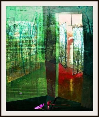 Licht Mixed Media - Natur-raum 02 by Gertrude Scheffler