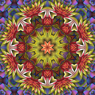 Wendy J. St. Christopher Digital Art - Natural Attributes 18 Square by Wendy J St Christopher