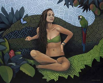 Natural Beauty Original by Nathan Miller