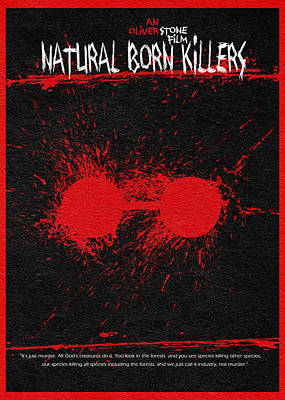 Natural Born Killers Print by Ayse Deniz