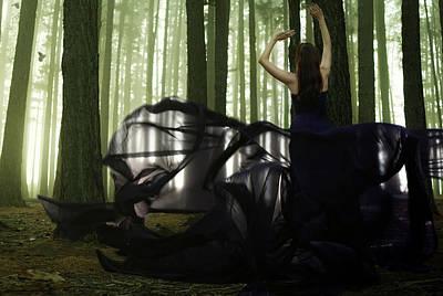 Nature Goddess Print by Fern Evans